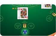888 Crazy Blackjack Game mit Seitenwetten