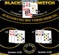 black jack switch spielregeln