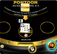 pontoon blackjack regeln